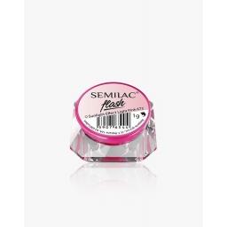 Semilac Flash Sunlight Effect Light Pink 673 Zmienia Kolor