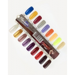 Wzornik ręcznie malowany Dance Flow/Flavours - 18 kolorów