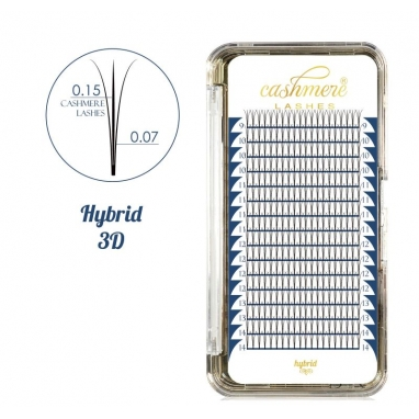 Cashmere Lashes Hybrid 3D C mix
