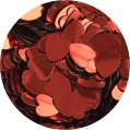 Serca Pełne Czerwone 6 mm