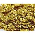 Cekiny złote 5 mm