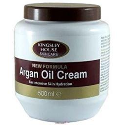 Kingsley House Argan Oil Cream nawilżenie 500 ml