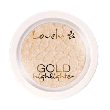 Lovely Highlighter Rozświetlacz Gold