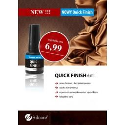Quick Finish Silcare Bez Przemywania  6 ml.