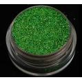 Brokat Zielony Hologram 0.2 mm. Pojemność Słoiczka 5 ml.