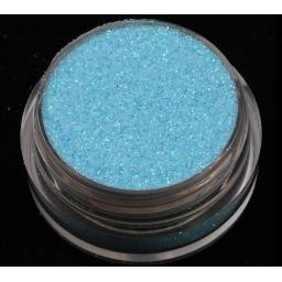 Brokat Niebieski Irys 0.2 mm. Pojemność Słoiczka 5 ml.