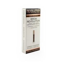 Make Up Revolution żel do brwi Brown Dark Brunete