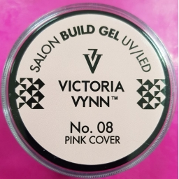 VICTORIA VYNN BUILD GEL No. 08 PINK COVER 15ml