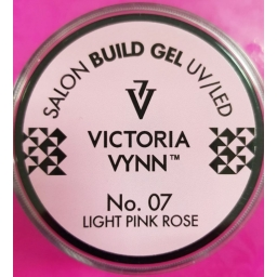 VICTORIA VYNN BUILD GEL No. 07 LIGHT PINK ROSE 15m