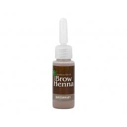 Noble Lashes Henna do brwi BrowHenna neutral brown