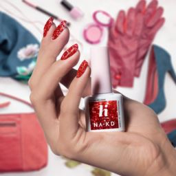Lakier hybrydowy hi hybrid 5 ml Red Elements 203