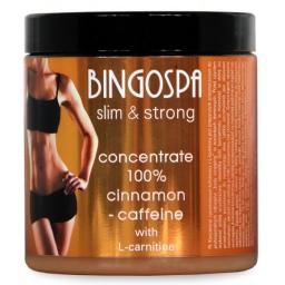 Koncentrat Cynamonowo - Kofeinowy 250 ml Bingo Spa