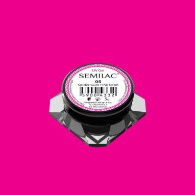 Semilac Żel do zdobień Spider Gum 05 Pink Neon