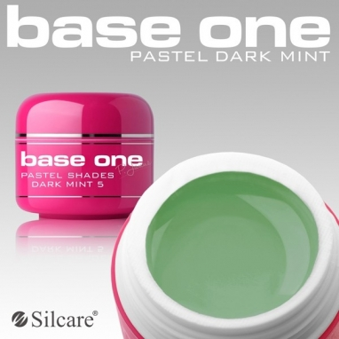 Żel UV Base One Pastel Dark Mint 5 g.