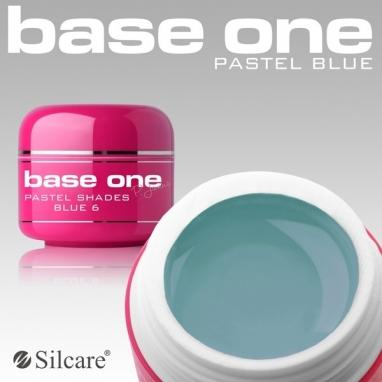 Żel UV Base One Pastel Blue 5 g.
