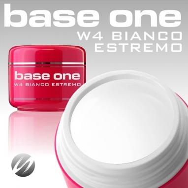 Żel Jednofazowy UV Base One Bianco Estremo 15 g.