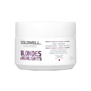 Goldwell Blondes & Highlights, 60 sekund kuracja