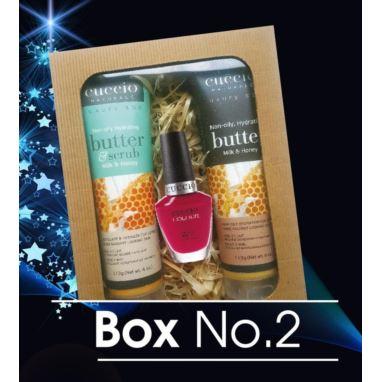 Świąteczny zestaw Cuccio Box no.2