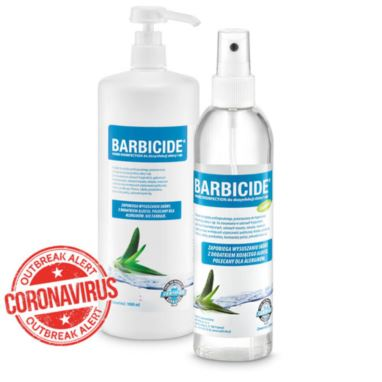 Barbicide spray do dezynfekcji skóry i rąk 250 ml