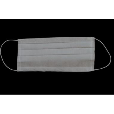 Maseczka 3-warstwowa ochronna biała 1 szt