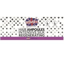 Ampułki do włosów Ronney Silk Regenerating 12x10ml