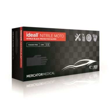 Rękawice nitrylowe Ideall Nitrile Moto XL 100 szt