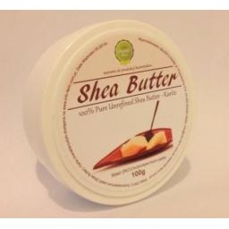 Masło Shea Nierafinowane 100%.  100g