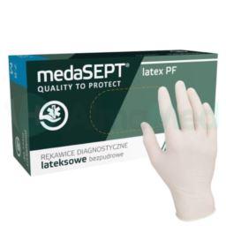 Rękawice lateksowe medaSEPT Premium PF L 100 szt