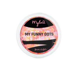 MylaQ ozdoba do paznokci My Funny Dots Sunrise