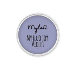 MylaQ pyłek do paznokci My Fluo Joy Violet