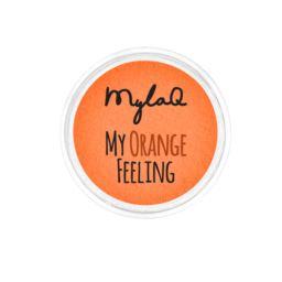 MylaQ pyłek do paznokci My Orange Feeling