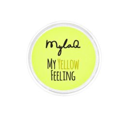 MylaQ pyłek do paznokci My Yellow Feeling