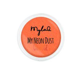 MylaQ pyłek do paznokci My Neon Dust Orange