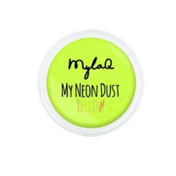 Mylaq pyłek do paznokci My Neon Dust Yellow