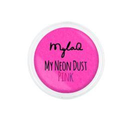 MylaQ pyłek do paznokci My Neon Dust Pink