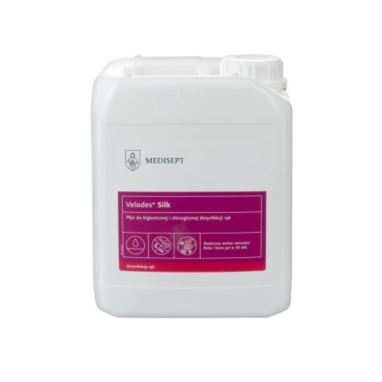 MEDISEPT Velodes Silk płyn do dezynfekcji rąk 5 L