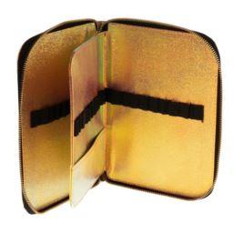 Piórnik na pędzle złoty Indigo