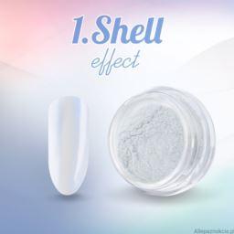 1. Shell effect - pyłek do paznokci