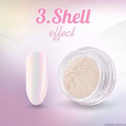 3. Shell effect - pyłek do paznokci