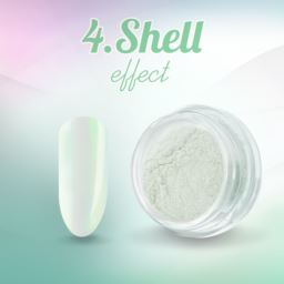 4. Shell effect - pyłek do paznokci
