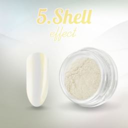 5. Shell effect - pyłek do paznokci