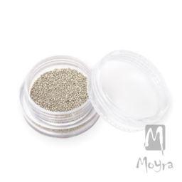 Moyra Caviar Beads 01 Silver 10g