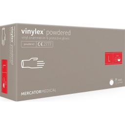 Rękawice winylowe białe Vinylex L 100 szt