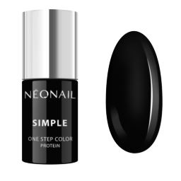 NeoNail 3w1 Lakier Hybrydowy SIMPLE 7,2 g - DARK