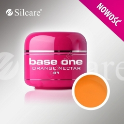 Base One Color Gel  Orange Nectar 5 g