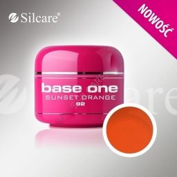 Base One Color Gel  Sunset Orange 5 g