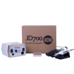 Frezarka 40W manicure pedicure JD700 biało złota