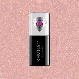 804 Semilac Extend Care 5w1 Glitter Soft Beige 7ml