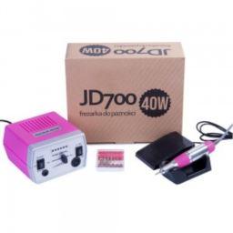 Frezarka 40W manicure pedicure JD700 Dark Pink