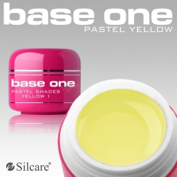 Żel UV Base One Pastel Yellow 5 g.